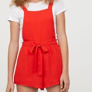 NWT H&M Overall Romper
